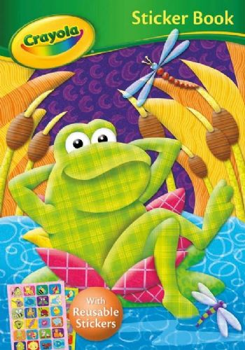 Crayola Sticker Frog Book